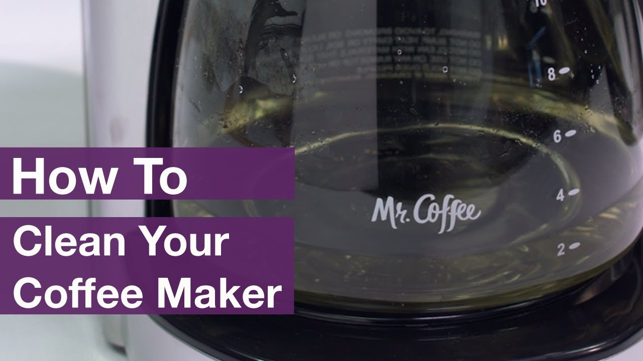 How to Clean a Coffee Maker with Vinegar and Baking Soda