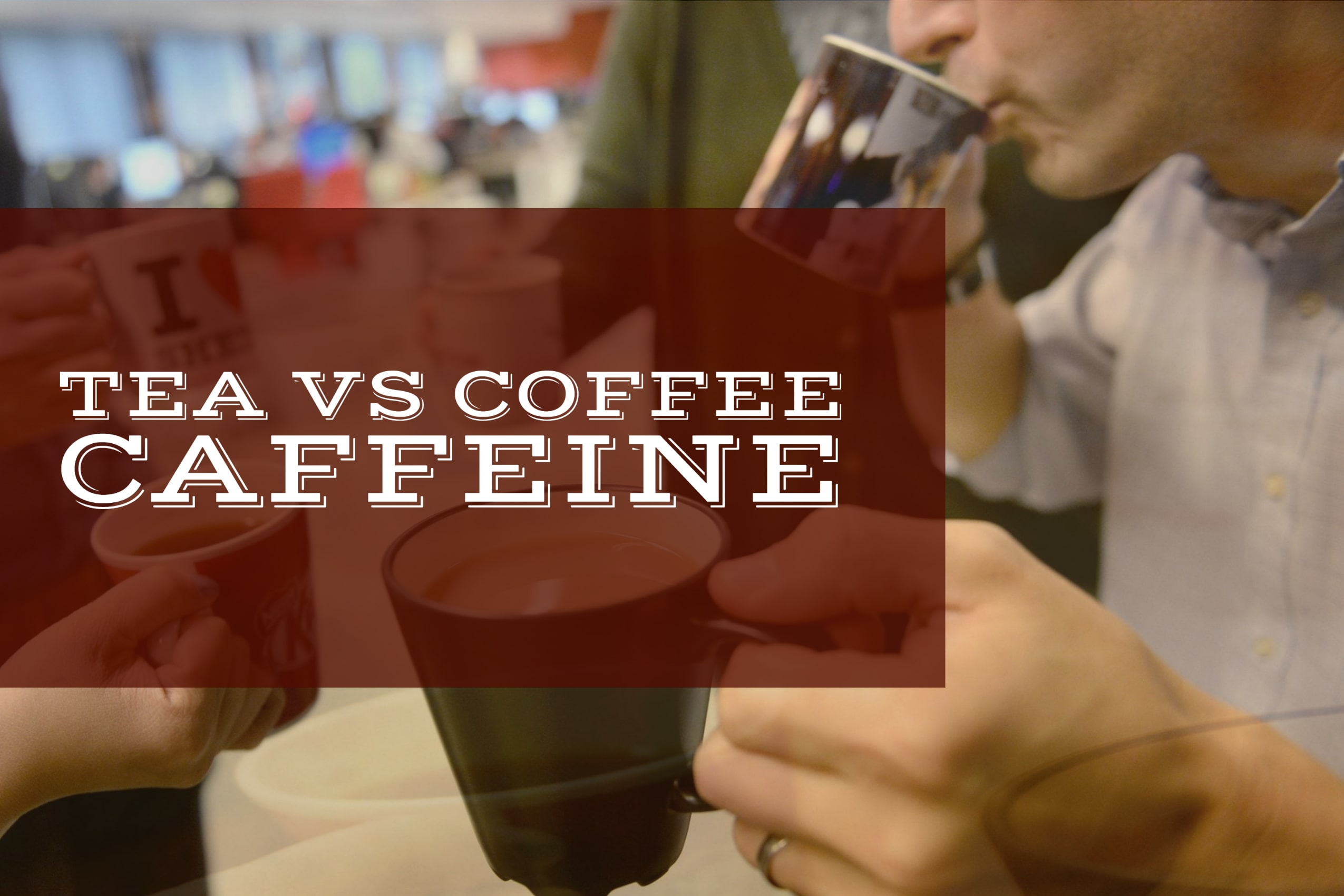 Tea vs Coffee Caffeine