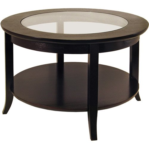 Winsome Wood Genoa Round Coffee Table